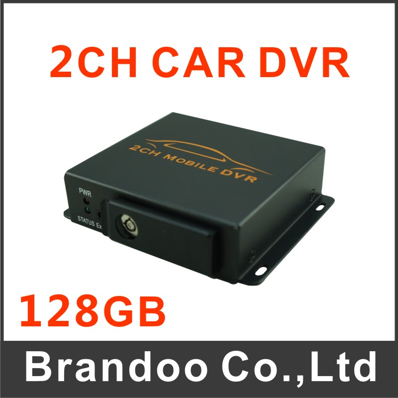 2015 new 2Ch Vehicle car Video Recorder Car/Bus mini Mobile Car Video DVR I/O Alarm Motion Detect Max Upto 128GB SD Card<br><br>Aliexpress