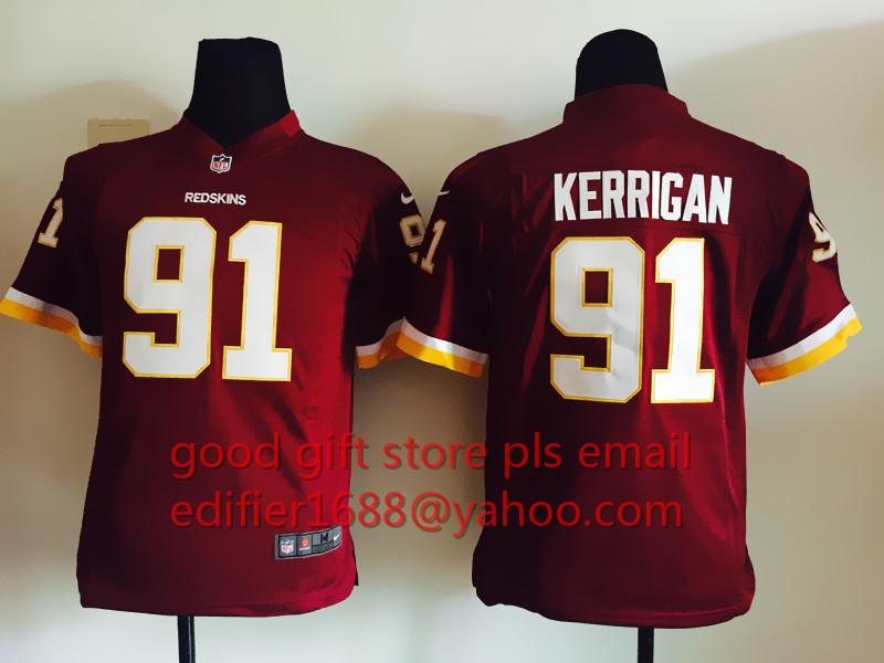 nfl Washington Redskins Ryan Kerrigan YOUTH Jerseys