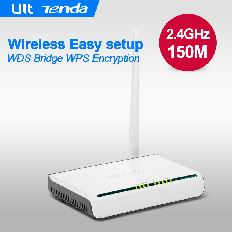 Tenda W311R 150Mbps Wireless WiFi Router,English Firmware,with Original EU Power Adapter, 802.11b/g/n Wi-Fi Roteador,Easy Setup(China (Mainland))