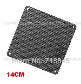 5Pcs Brand 14CM Dustproof net computer fan fan dust cover, fan dust cover Free Shipping New PVC