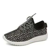 2016 New Men & Women Casual Shoes Fashion Breathable Shoes Grey Black Lacing Flat Shoes Multi Colos Plus Size35044 No Logo(China (Mainland))