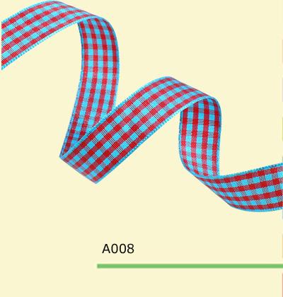 3 4 Inch 18mm font b tartan b font plaid ribbon