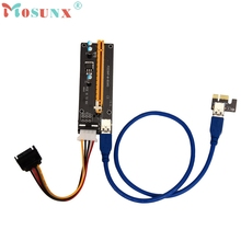 Buy Levert Dropship New Arrival PCI-E Express Powered Riser Card W/ USB 3.0 extender Cable 1x 16x Monero July 04 for $4.65 in AliExpress store