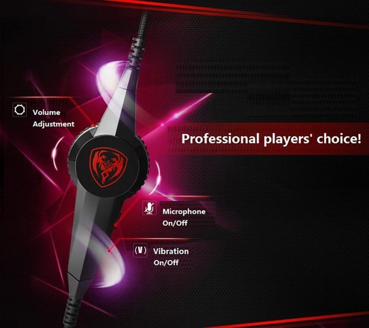 Pro Gaming Headphones With Microphone Somic G941 7.1 Surround Sound Effect   Sound USB Game Headset With Vibrating Function (3)