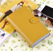 90 Slots Genuine Leather Business Credit Card Holder Case Women Men card holder wallet Card Package