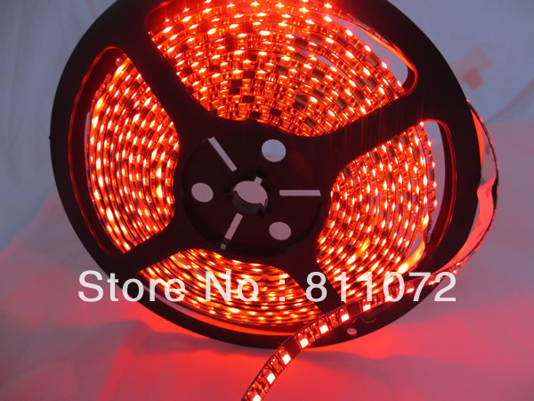 Flexible LED Strip 5M SMD 3528 warm white cool white Red Blue Green color Waterproof 600 LED Striplight