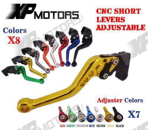 CNC Short Adjustable Brake Clutch Levers For MOTO GUZZI V7 Stone/Special 2013 2014(China (Mainland))