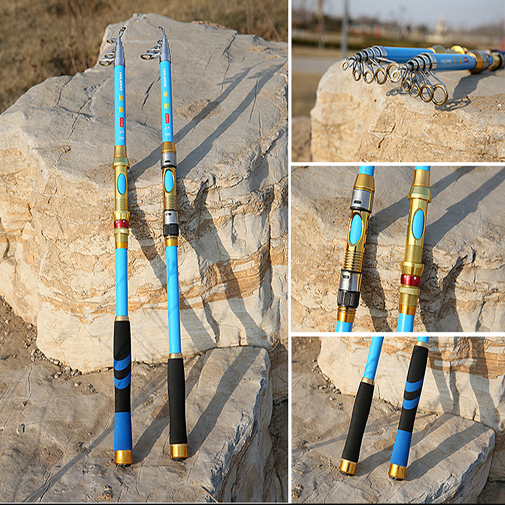 Foldable fishing rods promotion shop for promotional for Foldable fishing rod