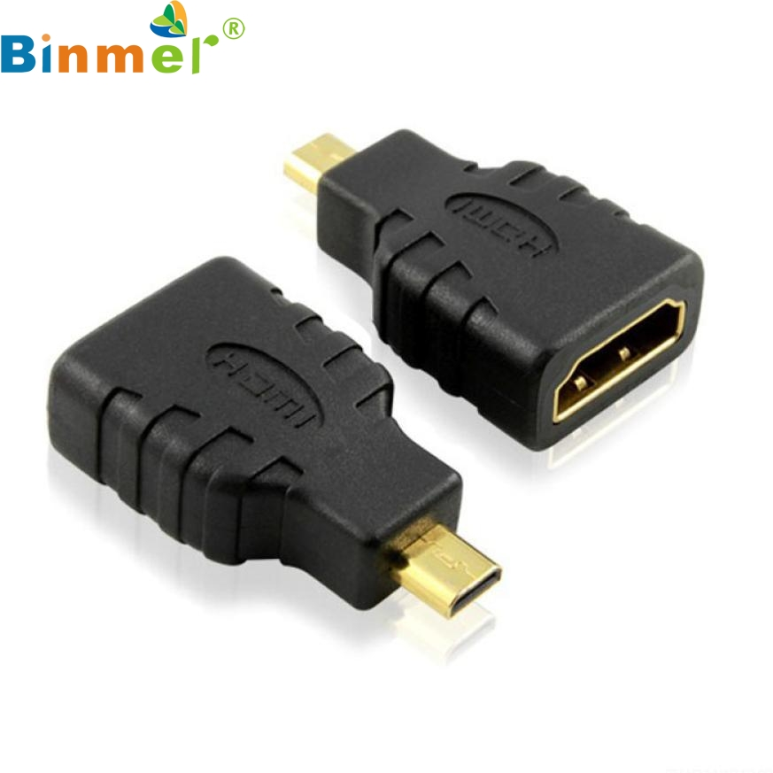 Top Quality 1pc Micro HDMI type D to HDMI Female Converters Adapter For Microsoft Surface RT to HDTV Sep10(China (Mainland))