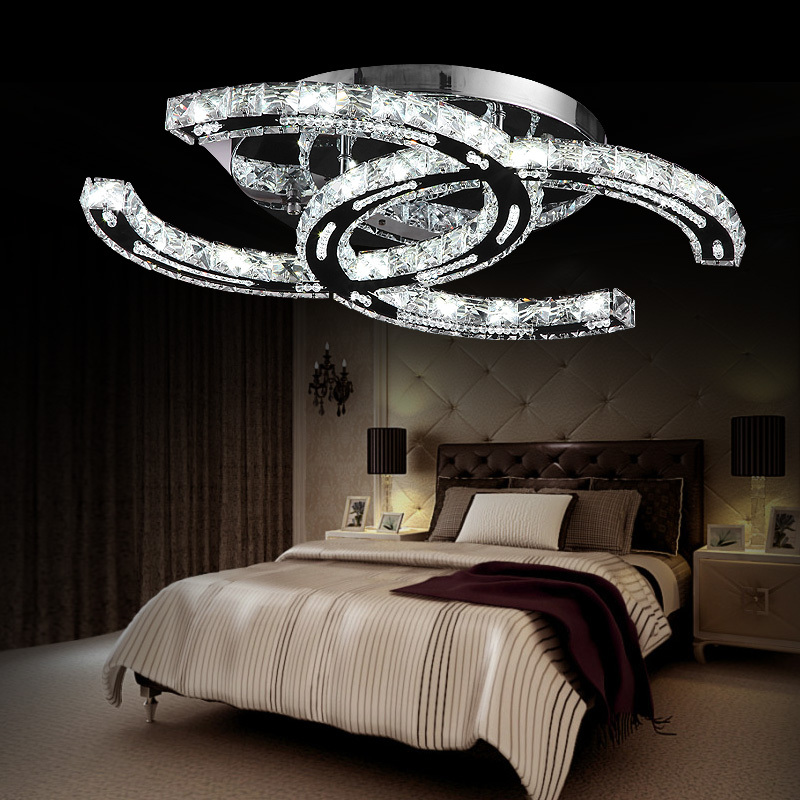 Brief Modern Ceiling Light Bedroom Fashion Dining Room