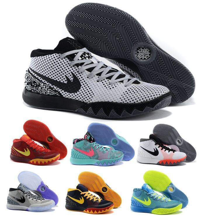 2015 cheap top quality Free shipping 2015 Hot sale Kyrie 1 Irving 1 I Signature basketball shoes sneakers athletic shoes(China (Mainland))