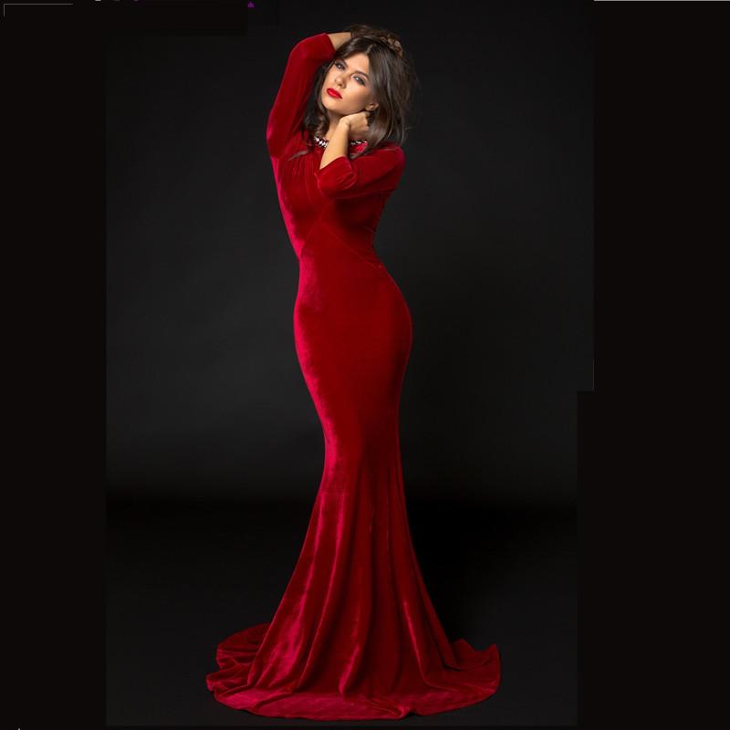 Long sleeve dresses prom