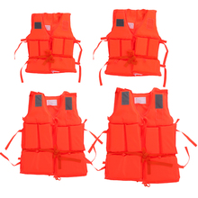 (Kids~Adult)  Prevention Flood Fishing Rafting Drift  Universal Polyester Life Jacket With Survival Whistle Adult Foam Vest(China (Mainland))