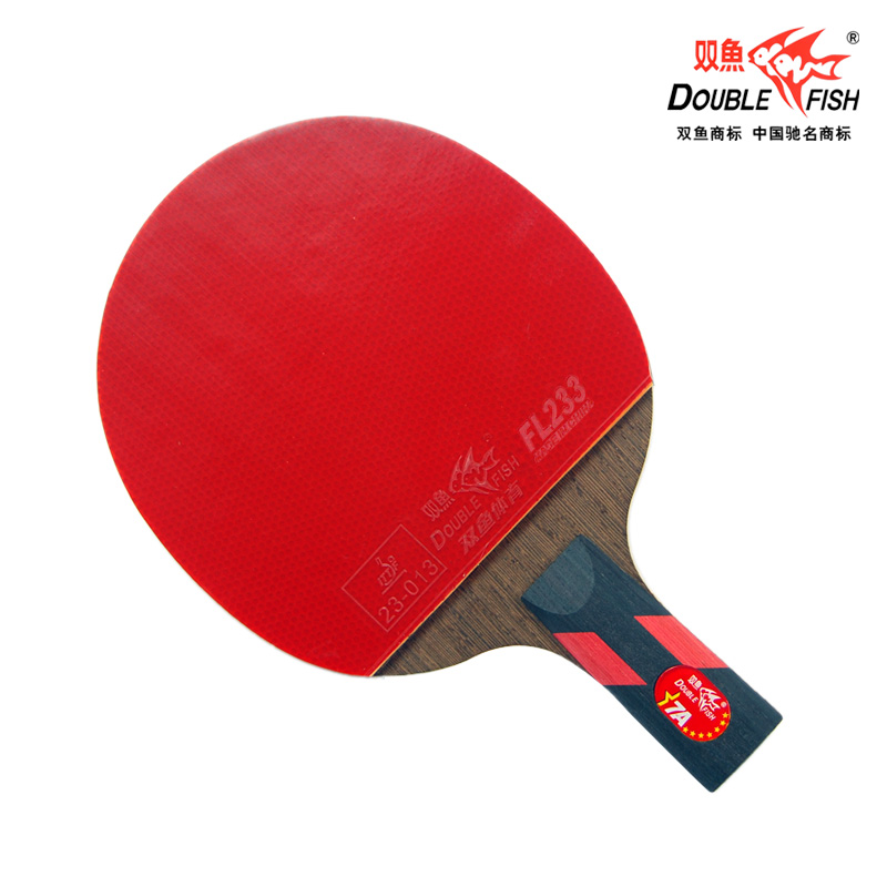 Double Fish 7 Star 1 Racket +2 Balls Set Ayous Wood Table Tennis Racket Ping Pong Bat Pimples In Penhold Shakehand Tenis De Mesa<br><br>Aliexpress