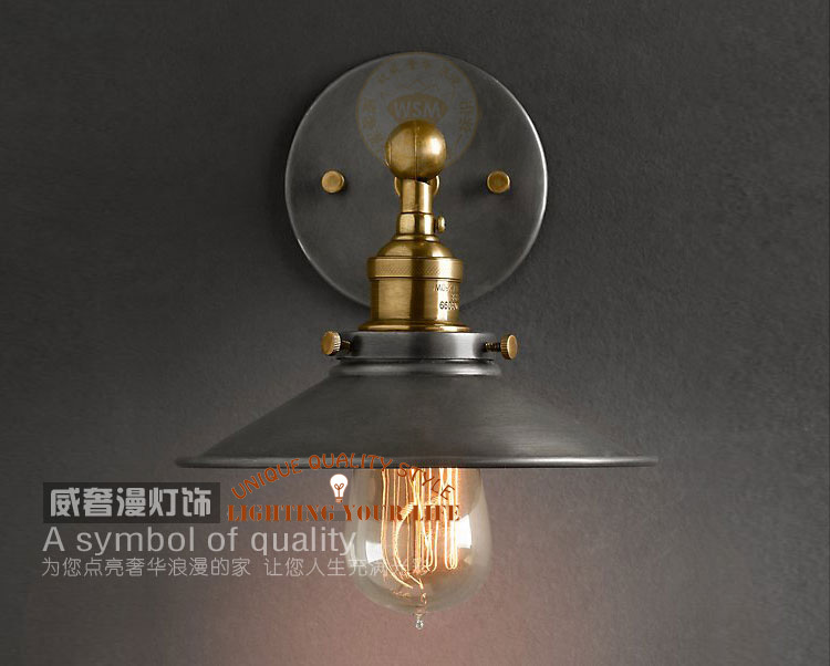 Contemporary Vintage Wall Lights : FREE SHIPPING rustic wall lamps vintage Industrial era copper lamp retro home lighting lamps for ...
