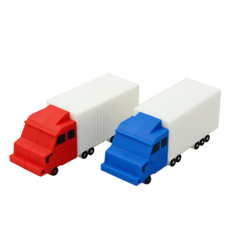 Garunk car usb flash drive mini truck pendrive 8gb 32gb freight train memory stick 4gb 16gb toy gifts creative usb free shipping(China (Mainland))