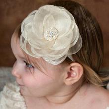 Buy 2017 Hair Bands Accessories Kids Girls Headband Newborn Lace Flower Rhinestone Pearl Hairband Headband Headwear for $1.41 in AliExpress store