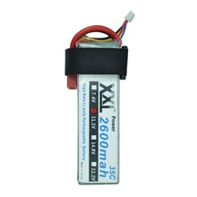 XXL Power Lipo Battery 3s 11.1V 2600Mah 35c for RC Car Airplane Quadcopter Align TREX 450 Helicopter RC Parts