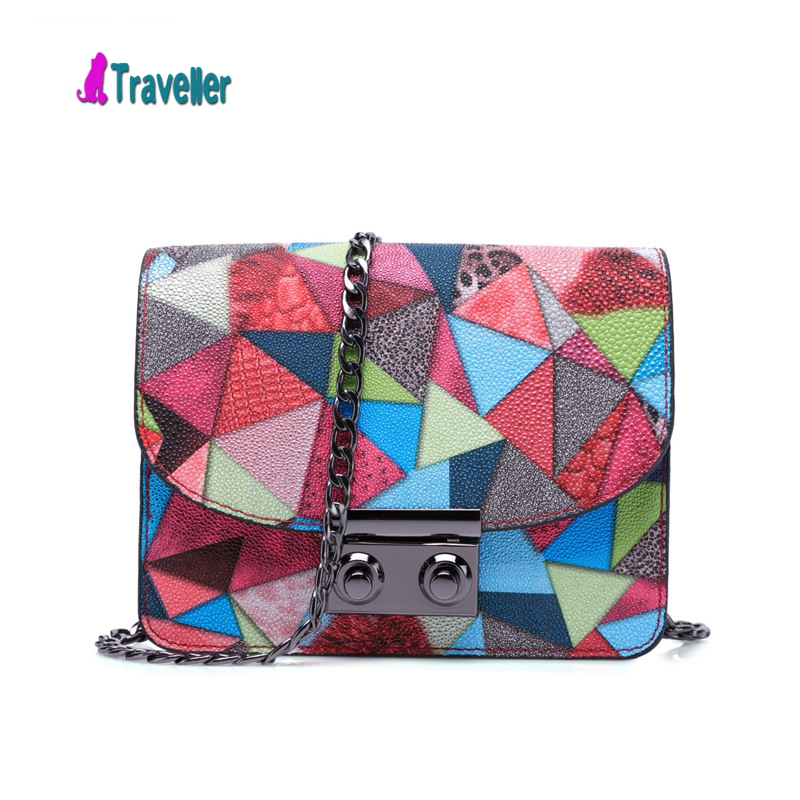 Next new trend of fashion Full print summer packet PU Leather Shoulder Bag Handbag square diagonal package flap pruse and bag(China (Mainland))