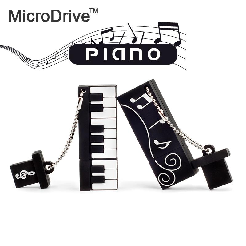 Cute Piano Shape USB Flash Drive 4gb 8gb 16gb 32gb 64gb Usb disk USB 2.0 pen drive Memory Stick pendrive U Disk(China (Mainland))