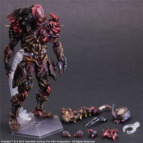 1pcs pop PA Alien Hunter action pvc figure character toy tall 26cm in box hot sell.<br><br>Aliexpress