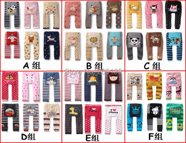 10pcs/Lot 2014 new Baby PP pants Toddler kids warmer leggings girls cartoon Trousers Children elastic tights socks wholesale<br><br>Aliexpress