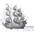 Free shipping 3D Metal Puzzles DIY Ship Model Gift World s Ship Ferry Caribbean Black Pear