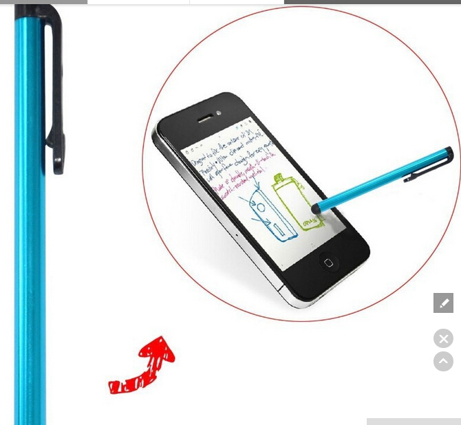2015 NEW Universal Capacitive Touch Stylus Pen for iPad iPhone All Mobile Phones Tablet(China (Mainland))