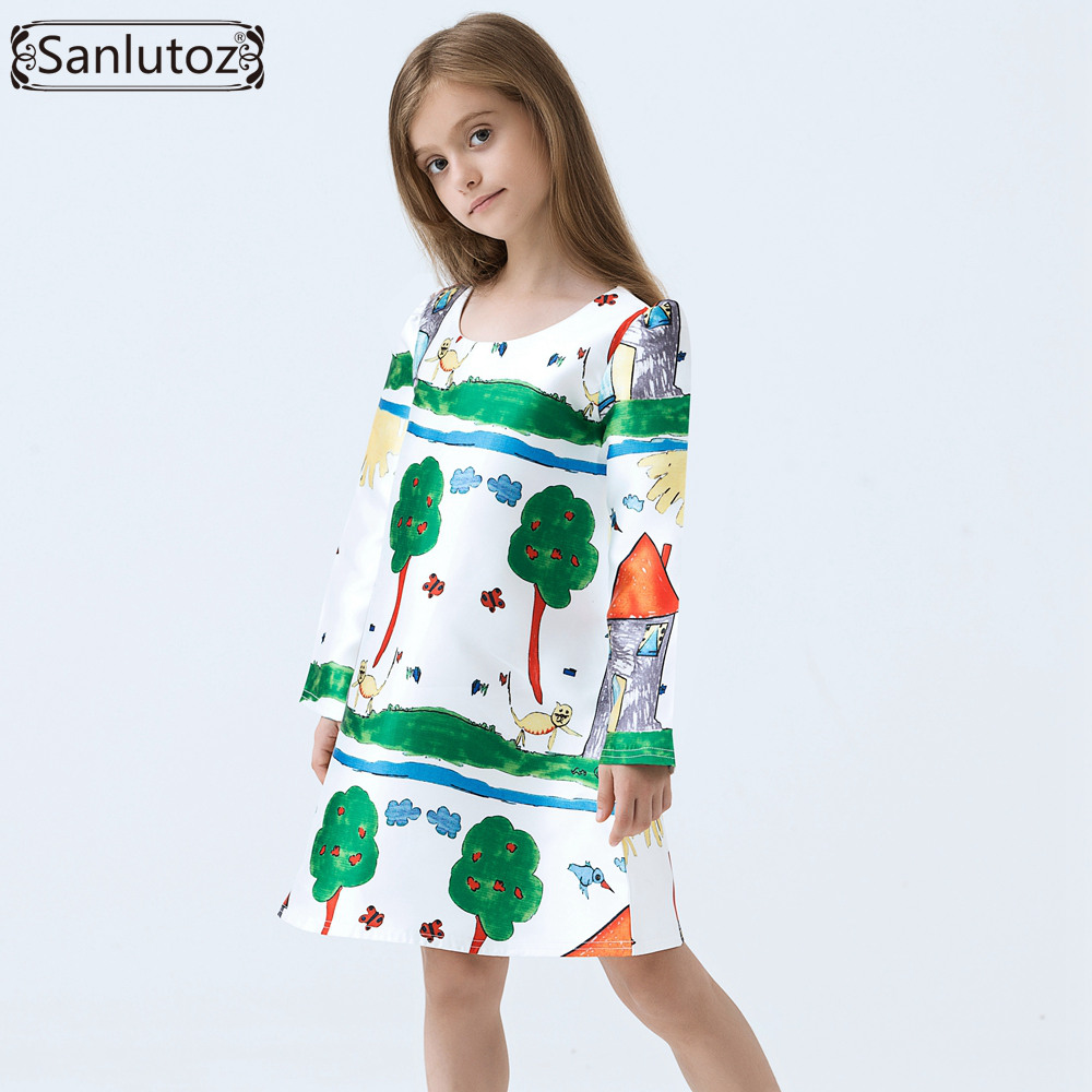 Girls dress winter kids clothes brand children dress for Dresses to wear to a christmas wedding