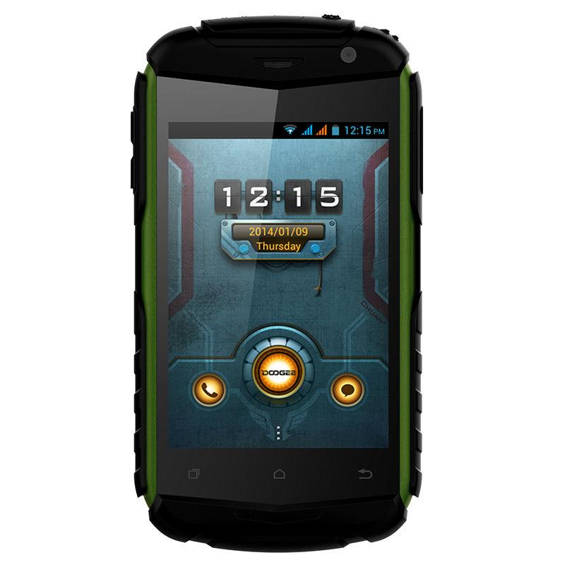 Original DOOGEE DG150 Waterproof Dustproof Waterproof 3.5 Inch MTK6572 Dual Core 512MB RAM 4GB ROM Dual Sim Mobile Phone(China (Mainland))
