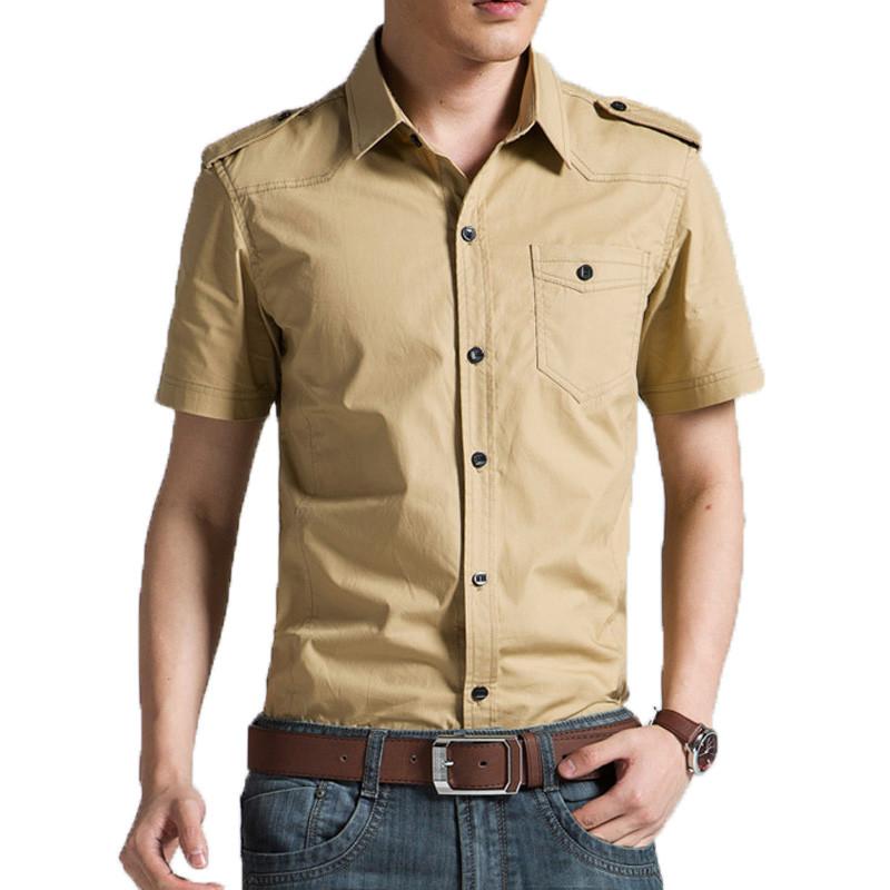 Online Get Cheap Khaki Shirts Alibaba Group