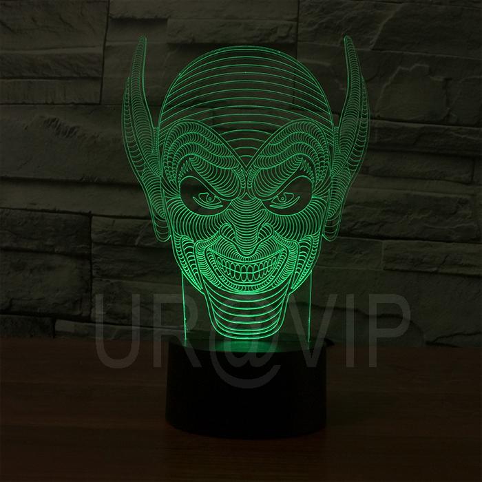 3d effect monster face shape LED night lamp  JC-2893<br><br>Aliexpress