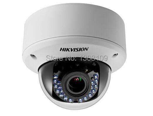 DS-2CE56C5T-AVPIR3 CCTV HIKVISION Turbo HD720P Outdoor Vandal Proof IR Dome Camera cctv camera CCTV hikvision security camera(China (Mainland))