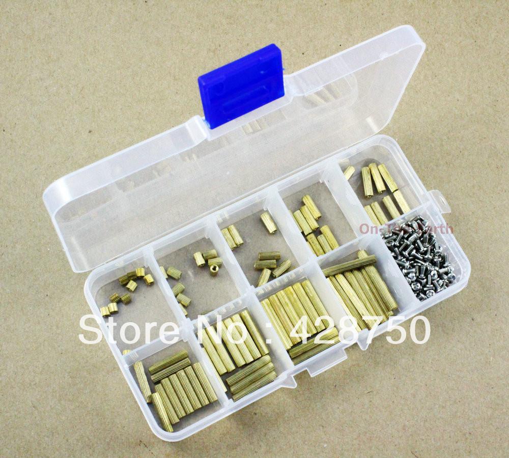 Female-Female M2 Brass Standoff and Screw Assortment Kit<br><br>Aliexpress