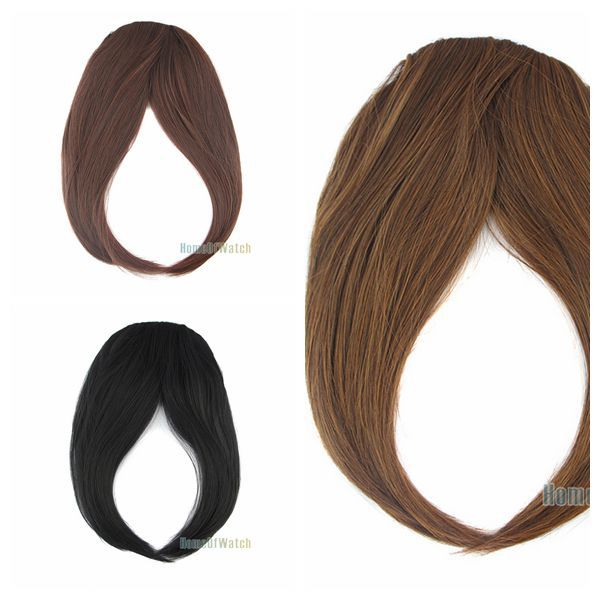 Maple/black/brown Fashoin Ladies Gorgeous Long Hair Extension (NWG0HE60722)(China (Mainland))