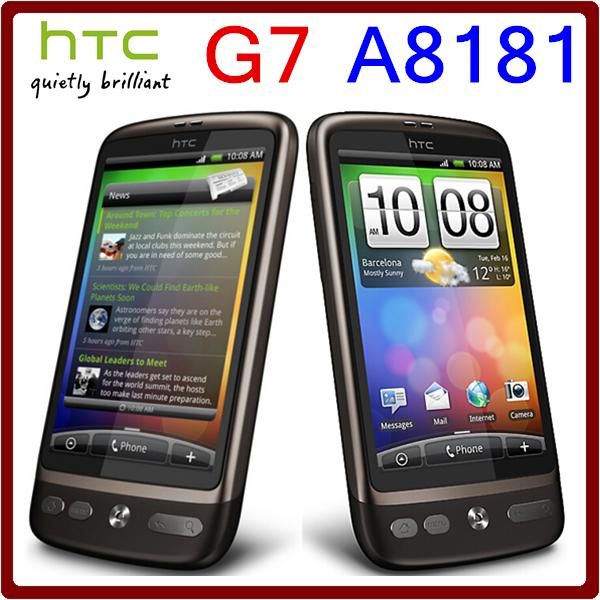 A8181 Original Unlocked HTC Desire G7 5MP 1400mAh 3G GPS WIFI Touchscreen Refurbished Mobile Phone Free Shipping(China (Mainland))