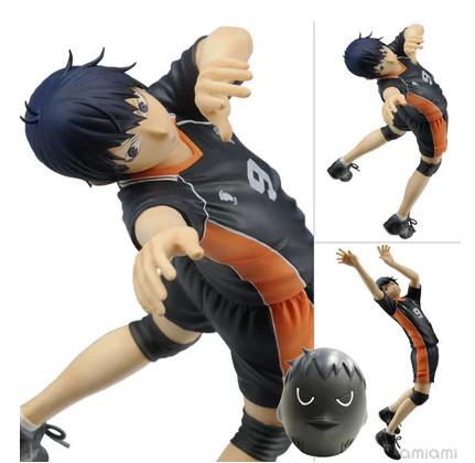 Anime Cartoon Haikyuu!! kageyama Tobio PVC Action Figures Collectible Toy 17CM <br><br>Aliexpress