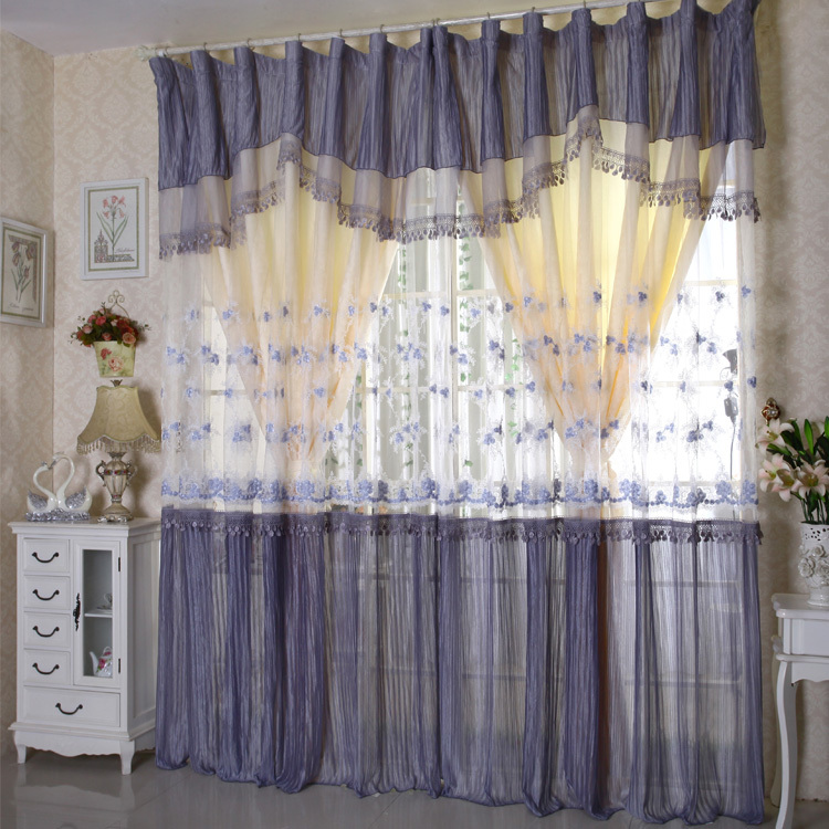 curtain sets princess girl living room bedroom in curtains from home