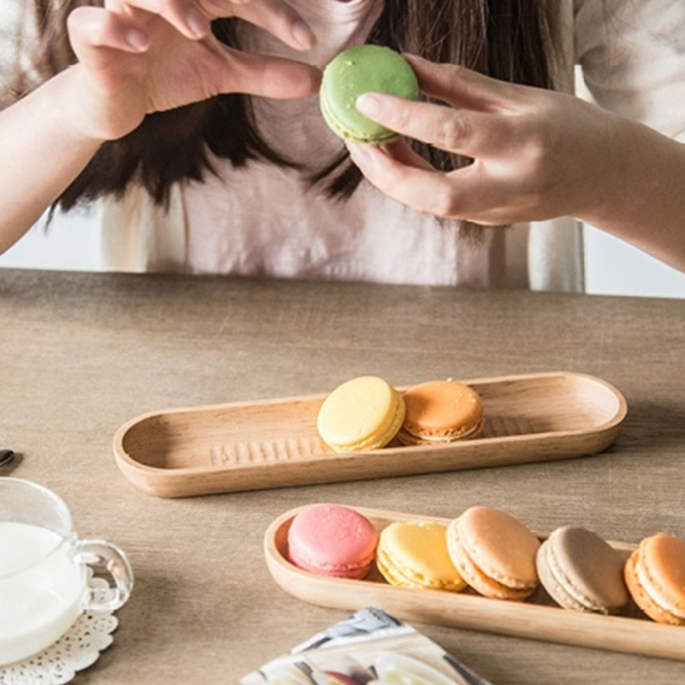 Brief Japan Style Sushi Dish Platter Handcraft Wooden Dessert Biscuits Plate Nuts Fruits Serving Tray DIY Table Decors(China (Mainland))