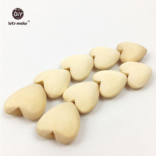 """50Pcs Unfinished Wood Hearts with Holes Natural Wooden heart drops 0.8"""" (2cm) Heart Pendant(China (Mainland))"""