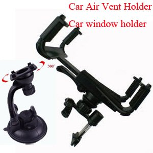 10pcs lot retail packing car holder for ipad car window mount for galaxy tab universal stand