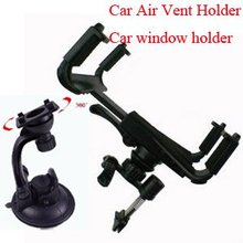10pcs/lot retail packing car holder for ipad, car window mount for galaxy tab, universal stand for PDA tablet PC