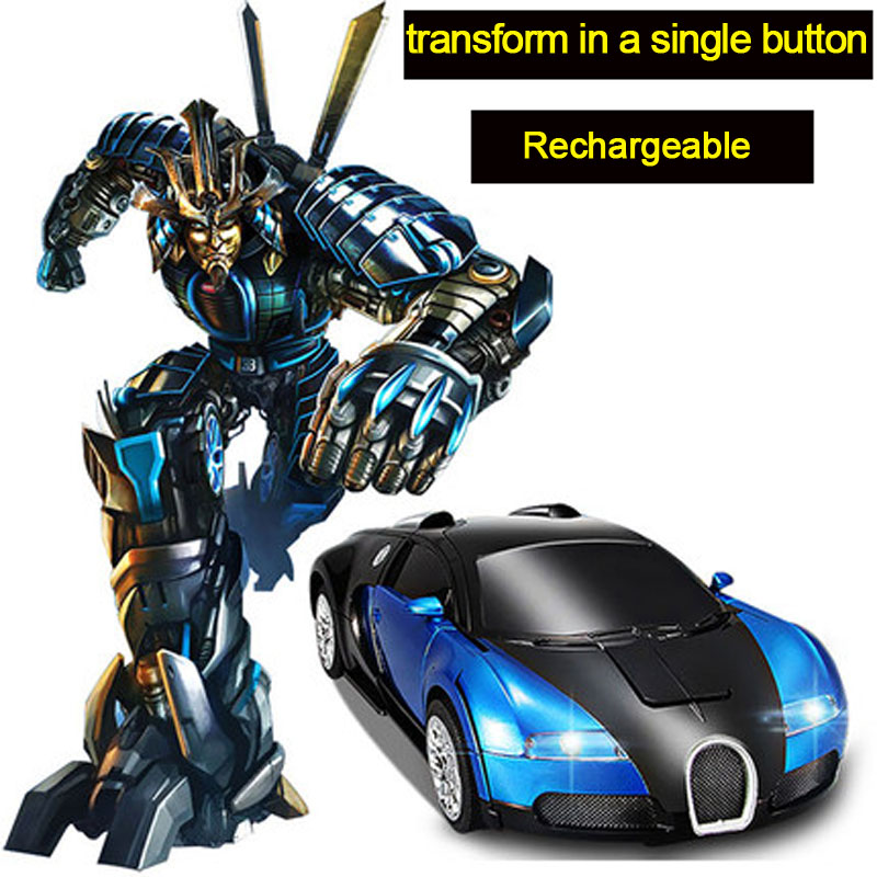 Newest Remote Control Electronic Transformation Robots Toys Optimus Prime Bumblebee Toys(China (Mainland))