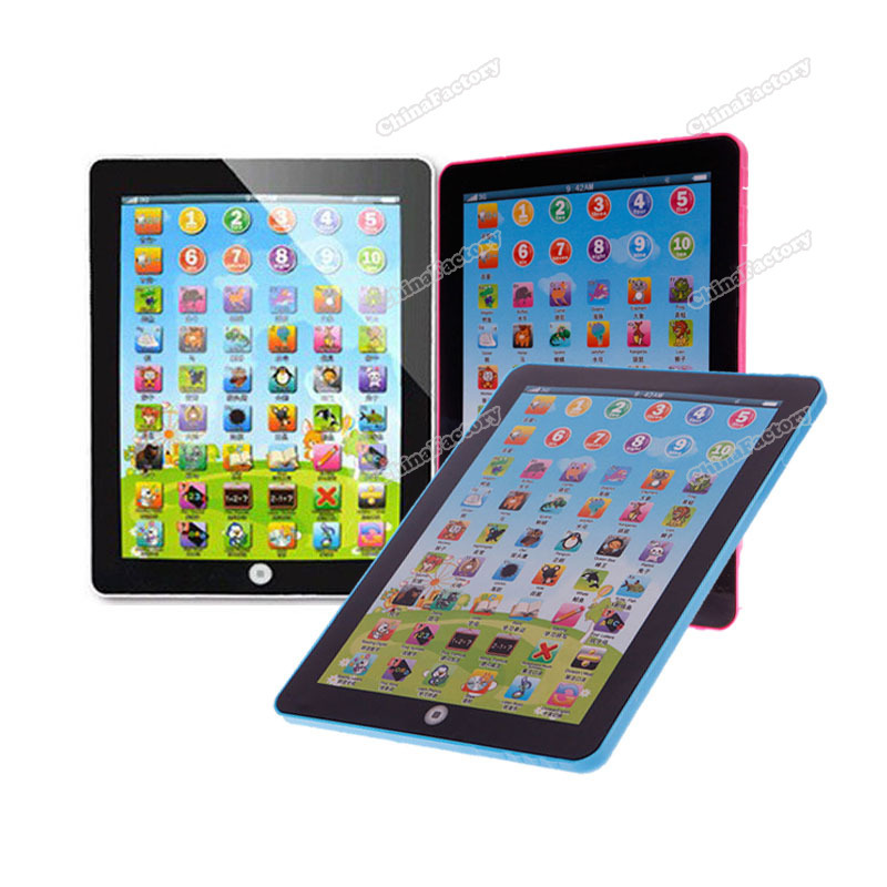 chinafactory quality assurance Kids Educational Computer Tablet Chinese English Learning Study Machine Toy #03 buying quickly(China (Mainland))