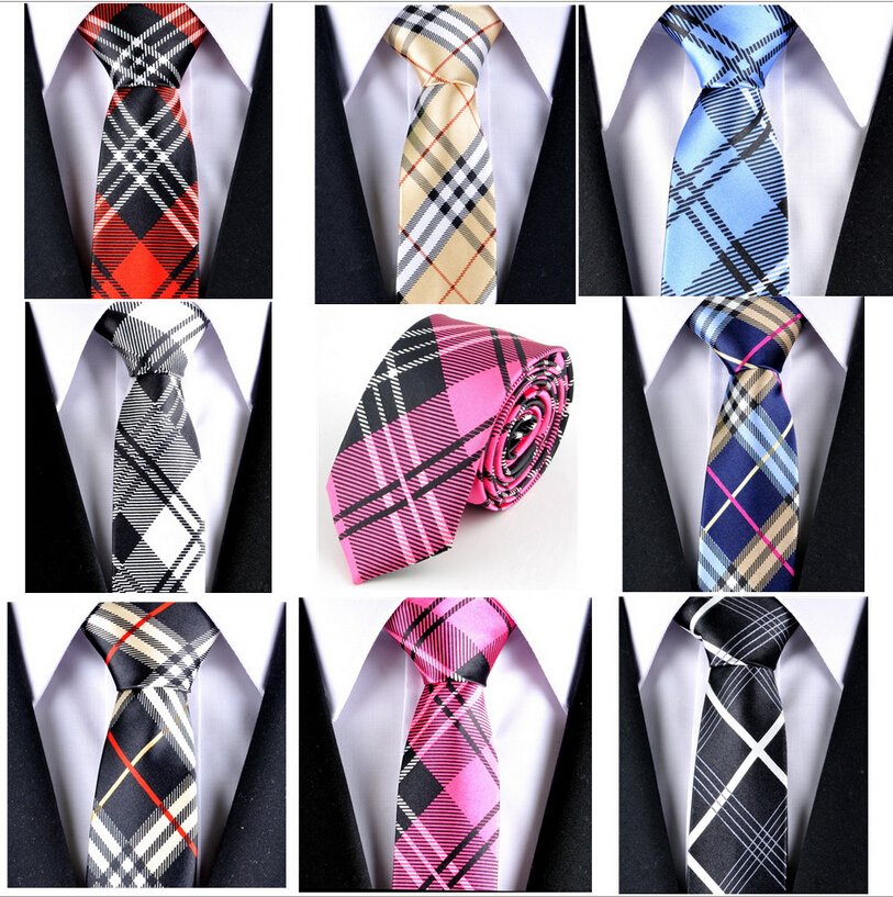 New Fashion Ties 2015 Men Tie Striped Narrow Neckties Men's Business Gift Tie Free Shipping(China (Mainland))