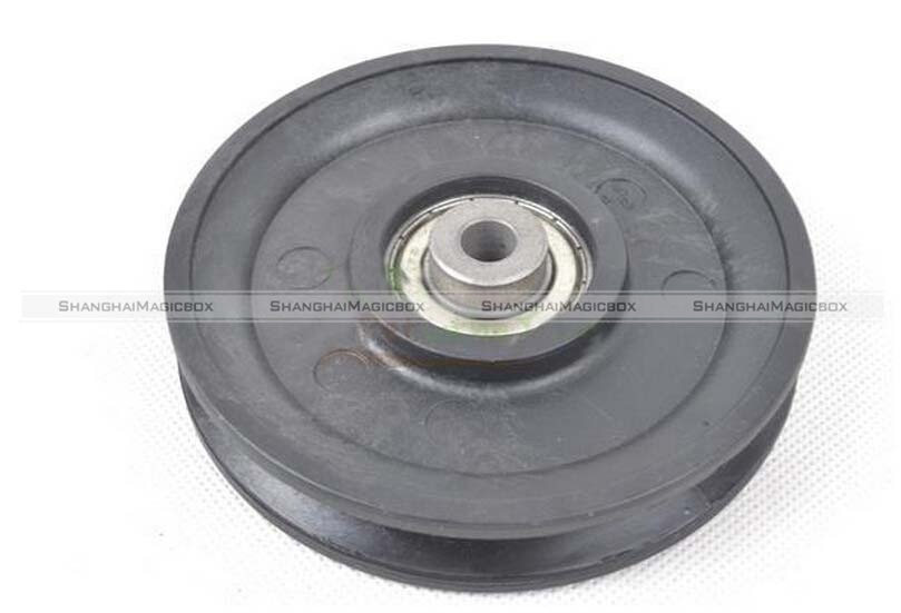 95mm Black Bearing Pulley Wheel Cable Gym Equipment Part Wearproof)FP 5X