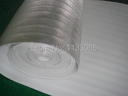 Roof insulation foil The roof insulation Foam board insulation materials Insulated waterproof,pure aluminium EPE insulation(China (Mainland))