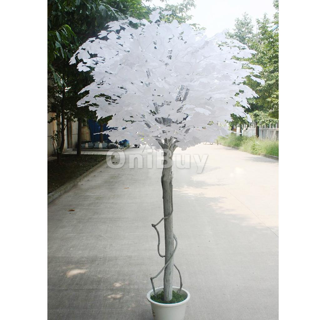 Artificial Ginkgo Leaf for DIY Creative Home Wedding Garden Decoration12pcsWhite Artificial Plant decorative flower(China (Mainland))
