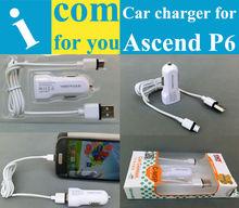 USB Car Charger Huawei Ascend P6 P2 P1 W2 W1 Y300 Y200 U8833 T8833 G700 G610 G610s G600 G300 D2 D1 5V 1A - Shenzhen MIG Co.,ltd store