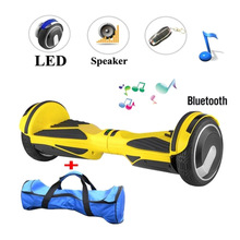 Buy 2016 New 6.5 inch bluetooth hoverboard smart balance 2 Wheel self balancing scooters electric scooter hover boards for $271.58 in AliExpress store